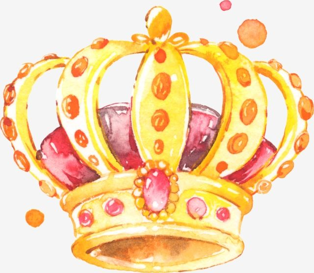 Crown Crown Headwear Princess Crown Princess Crown Golden Crown Watercolor Crown Png And Vector With Transparent Background For Free Download Crown Png Crown Painting Crown Art