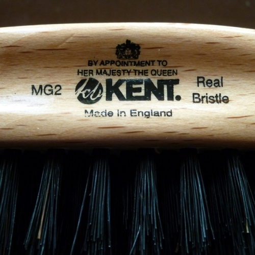 KENT MENS OVAL HAIR BRUSH.  16.11.12.  Made in England.