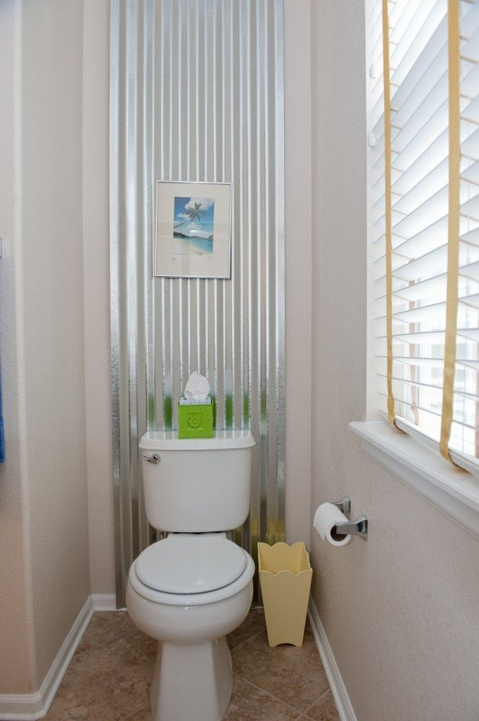 25 best ideas about corrugated metal walls on pinterest for Bathroom rehab ideas