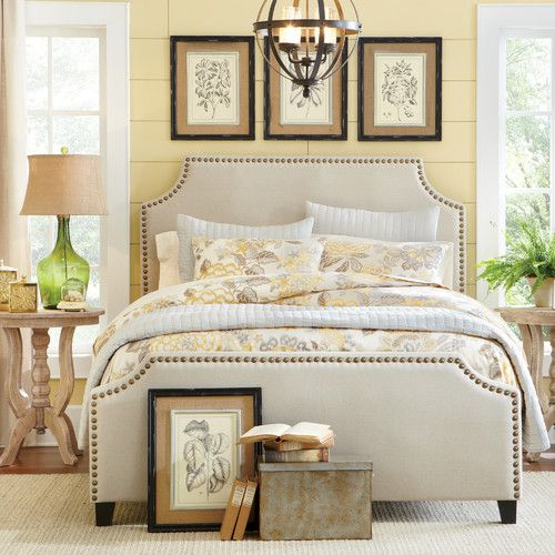 25 Stunning Transitional Bedroom Design Ideas: 25+ Best Ideas About Upholstered Beds On Pinterest