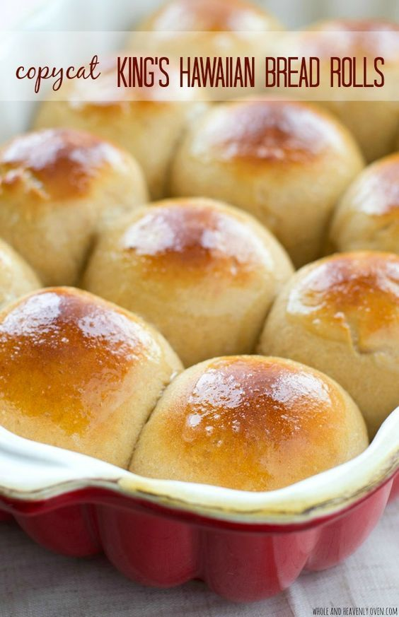 Love King's Hawaiian bread rolls? Once you try them homemade you'll never go…