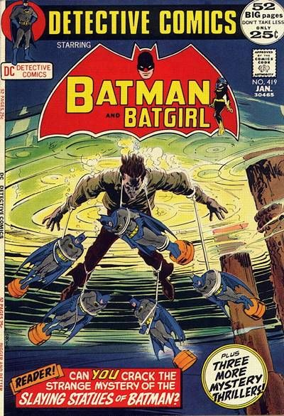 Detective Comics #419 - Batman and Batgirl
