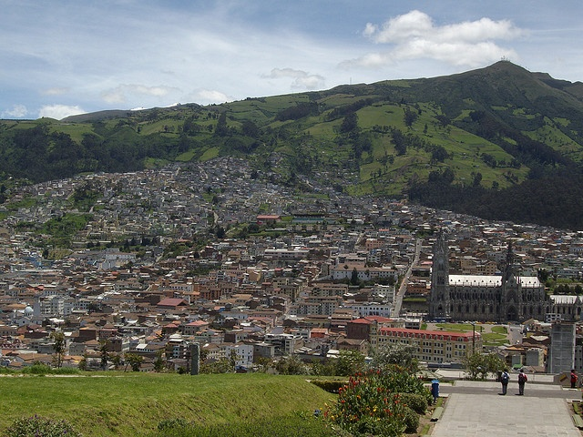 City of Quito, Ecuador