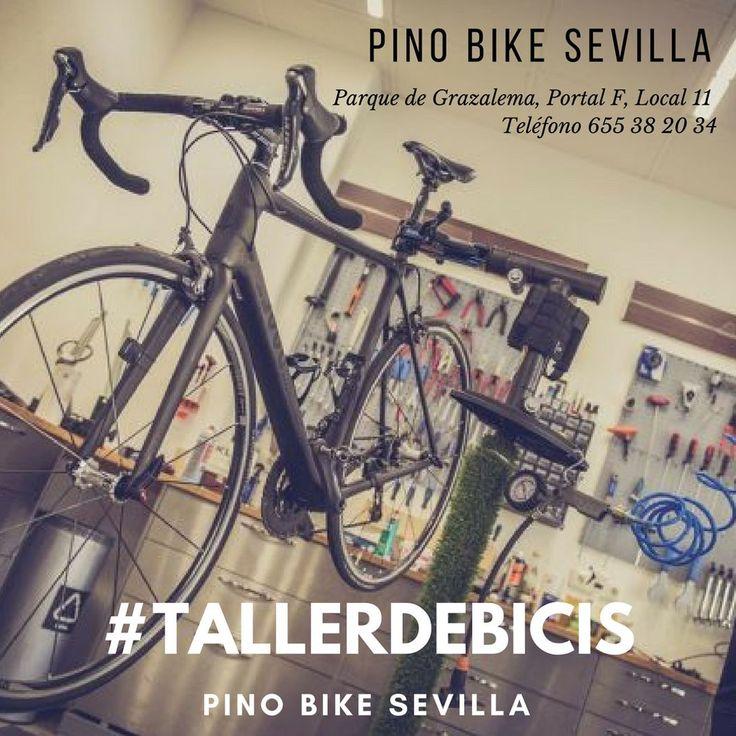 Reparación de todo tipo de bicicletas y sillitas sin motor de discapacitados soldaduras centrado de ruedas ajustes revisiones montaje de todo tipo de piezas y venta de bicis de segunda mano totalmente revisadas.  PINO BIKE SEVILLA | TALLER DE BICICLETAS Parque de Grazalema Portal F Local 11 41015 Sevilla Telef/WhatsApp: 655 38 20 34  #bike #bicicletas #sevilla #taller #tallerdebicicletas #pinobike #growingalifetogether #EmpresasDePadres #Community #ThisIsOurLife #somosColegioAndévalo…