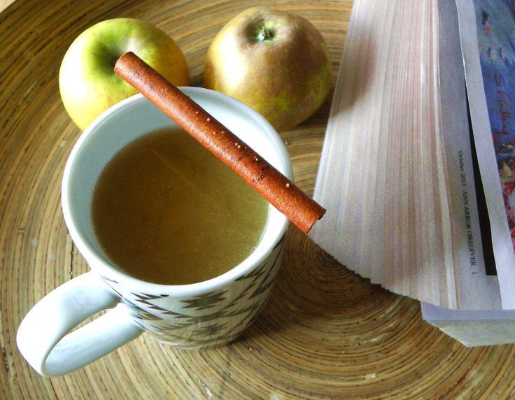 L'apple chaïder : une boisson pour Thanksgiving. Pommes, earl grey, canelle
