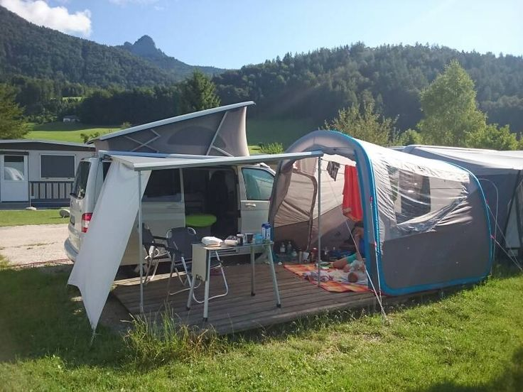 quechua air base als aufenthaltszelt wohnwagen vw t4 und t3 bus. Black Bedroom Furniture Sets. Home Design Ideas