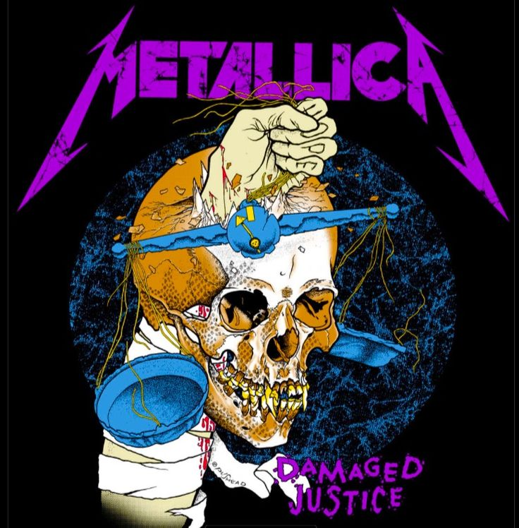 Metallica - art by Pushead