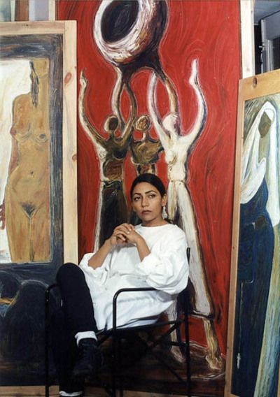 "mesogeios: ""Deepti Naval with her work """