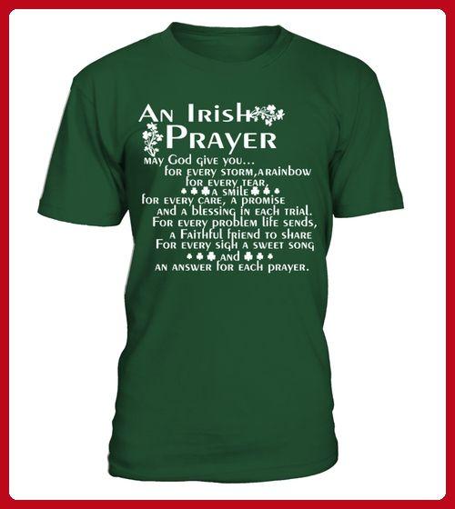 St Patricks An Irish Prayer May God - St patricks day shirts (*Partner-Link)