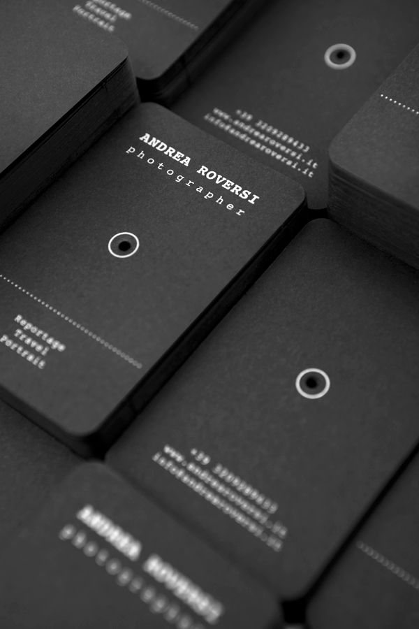andrea roversi business card by bellistrami via behance