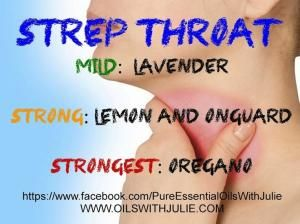 Pure Essential Oils with Julie: Natural Help for Strep Throat!! Essential oils and sore throat! by winnie