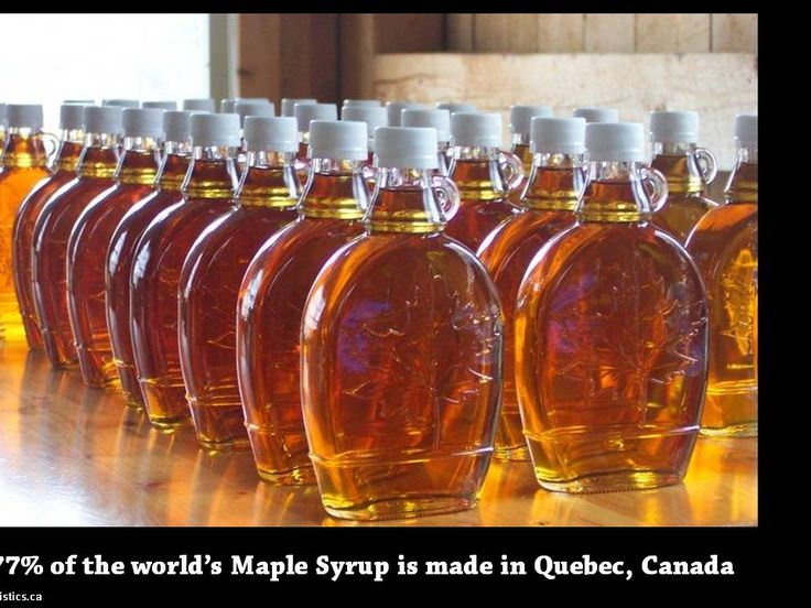 We have a few provinces that produce this Nectar of the Gods. Heavenly goodness Made In Canada