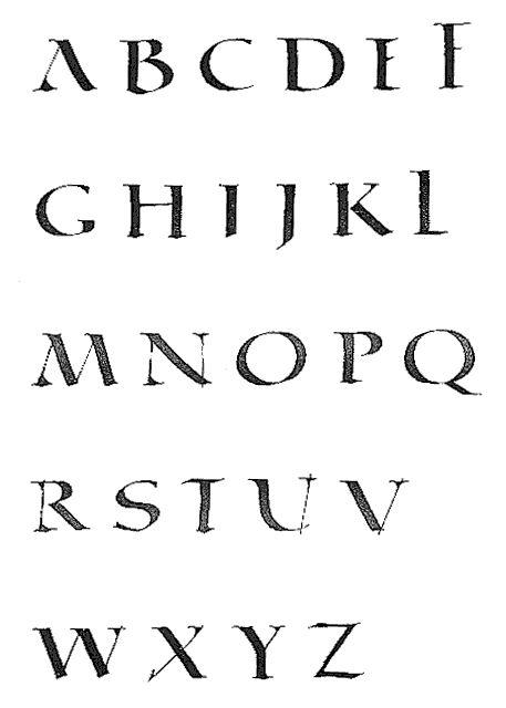 Quadrata typographie romaine