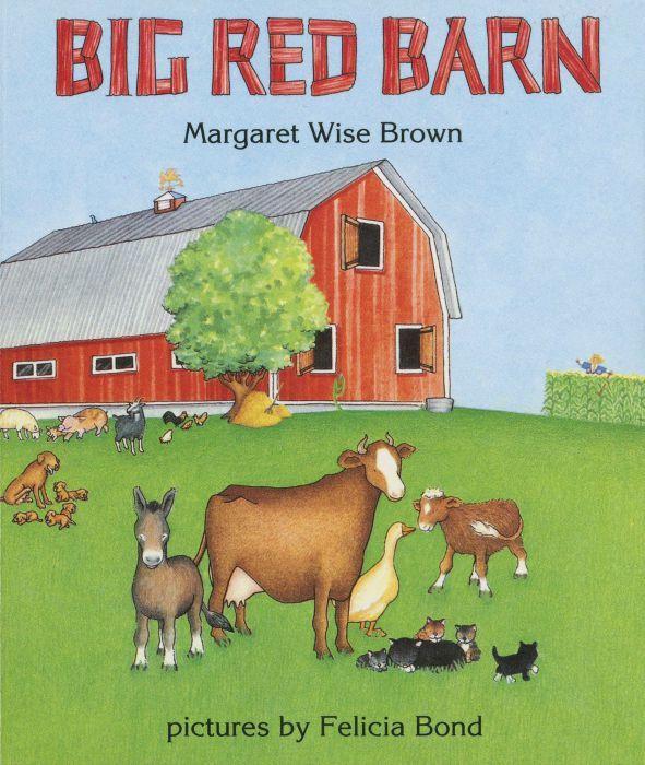 Fun farm theme preschool snack to go along with the book Big Red Barn