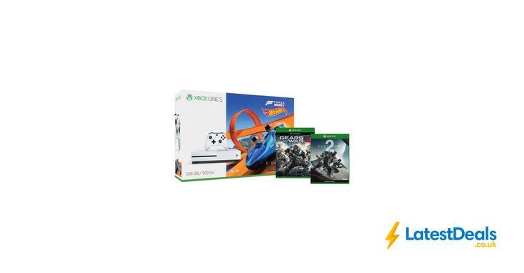 Xbox One S 500GB Console – Forza Horizon 3 Hot Wheels Bundle + 2 FREE games, £199.99 at Microsoft