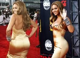 Beyonce- one of american legend singers with a big butt. she is also the wife of american legend rapper jay-z