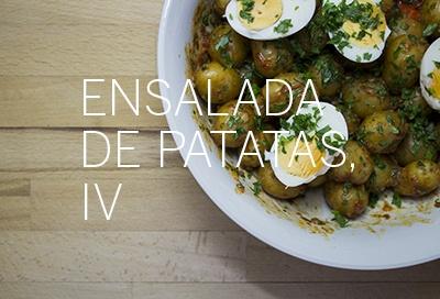 Patatas cocidas con salsa de choriceros y anchoas