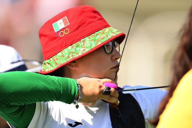 ARCHERY - Gabriela Bayardo of Mexico