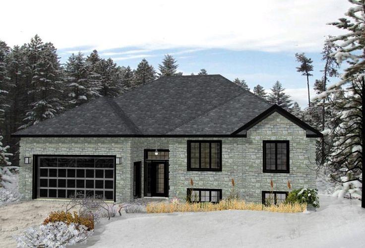 Modèle de maison usinée :  Outaouais / Prefab house  Maisons Champoux Homes
