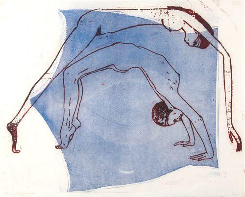 Nancy Spero (American, b. 1926) `Goddess Nut /