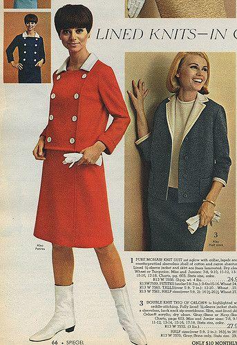 Vintage kleider 1966