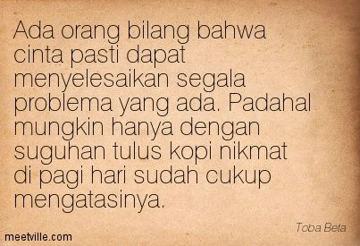 Kutipan #Kopi.~ :)