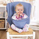 Chaise haute bébé | Chaise de voyage bébé pliable | Idéal pour manger dehors et les jours fériés | pratique et ne pas occuper l'espace | Convient dans le sac | Livraison couleur aléatoire - réhausseur