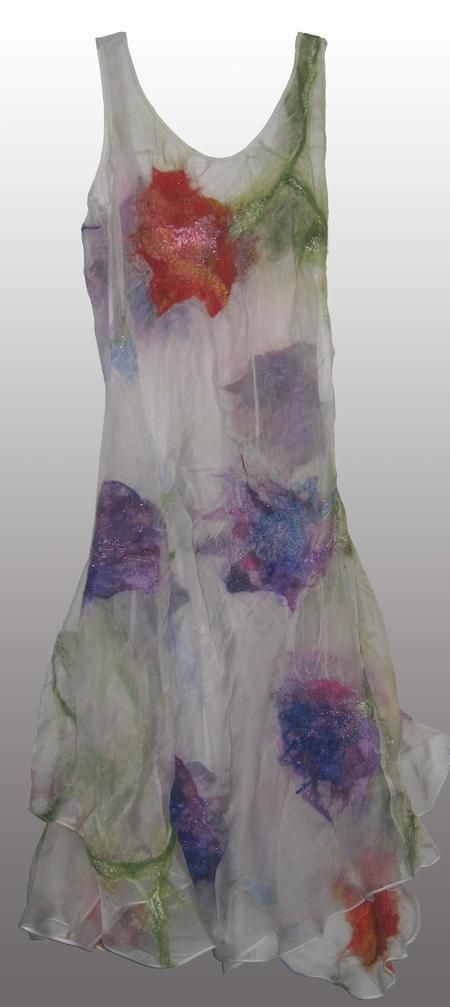 Nuno Felted Skirts and Dresses Nina's Fiber Arts