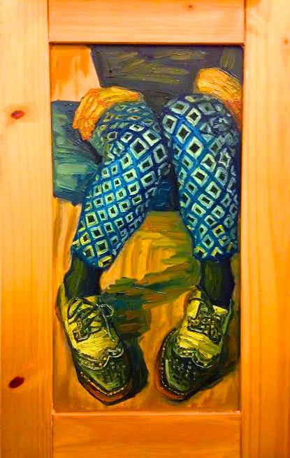#oilpainting #wood  #art #post-impressionism #patterns #shoes