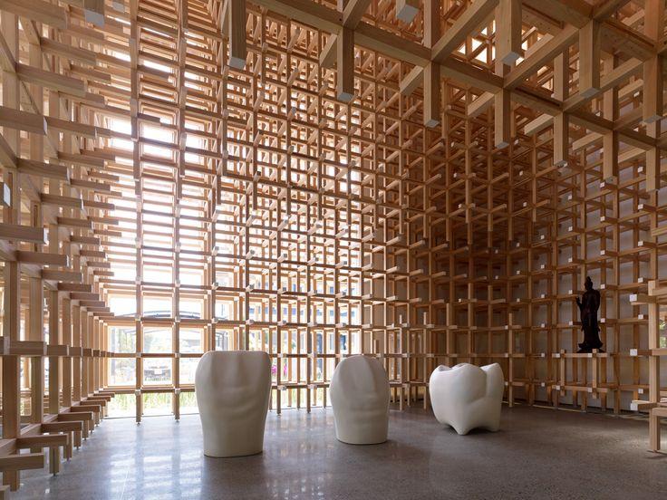 Prostho Museum Research Center | kengo kuma and associates