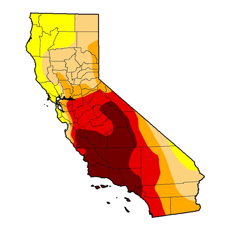 Update on the CA drought conditions.