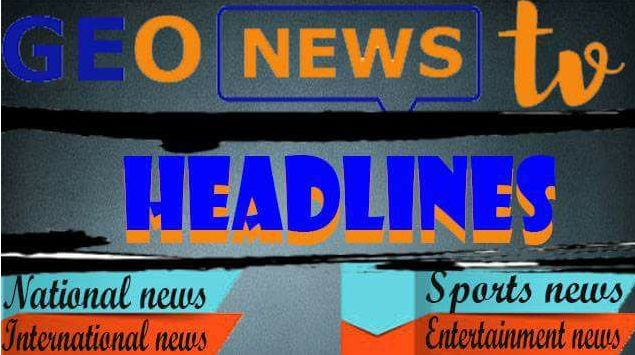 The biggest online news portal of Pakistan। Geo News -Breaking News -Latest News Urdu News-Pakistan News-Daily News. Pakistani News Portal pakistan, news, top news, latest news, breaking news, india, pakistan (country)