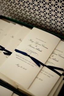 lovely ceremony programs