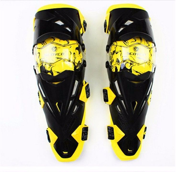 Motorcycle Knee Protector Moto Racing Protective Kneepad Guard Motorbike Gear #Scoyco