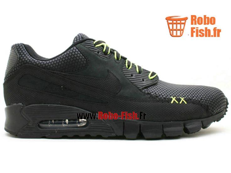 """Nike Air Max 90 Current Premium """"Kaws"""" - Chaussure Nike Running Pas Cher Pour Homme Noir 346114-001"""