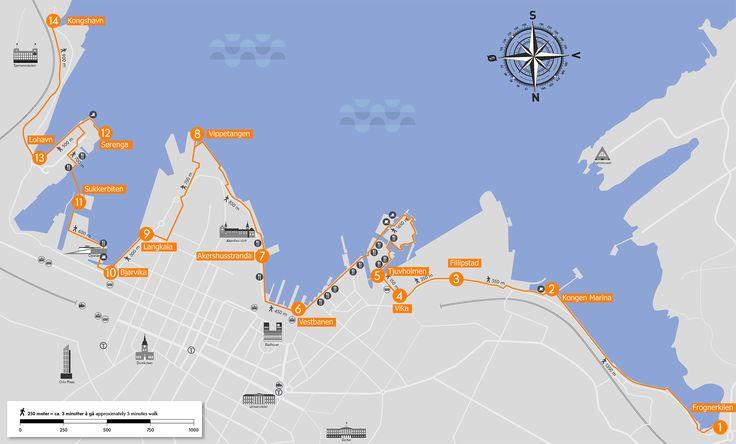 Harbour Promenade map