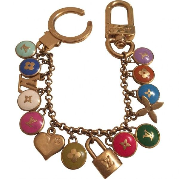 Pre-owned Louis Vuitton Multicolour Metal Bag Charm ($413) ❤ liked on Polyvore featuring jewelry, pendants, multicolour, louis vuitton, louis vuitton jewelry, charm pendants, multicolor jewelry and tri color jewelry