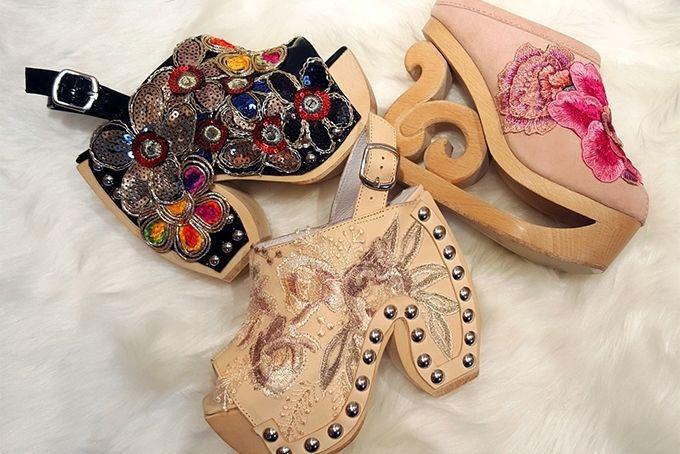ジェフリーキャンベルの新作サンダル&サボ - 刺繍、レース、スパンコールで施された花が足元を彩る - Yahoo! BEAUTY