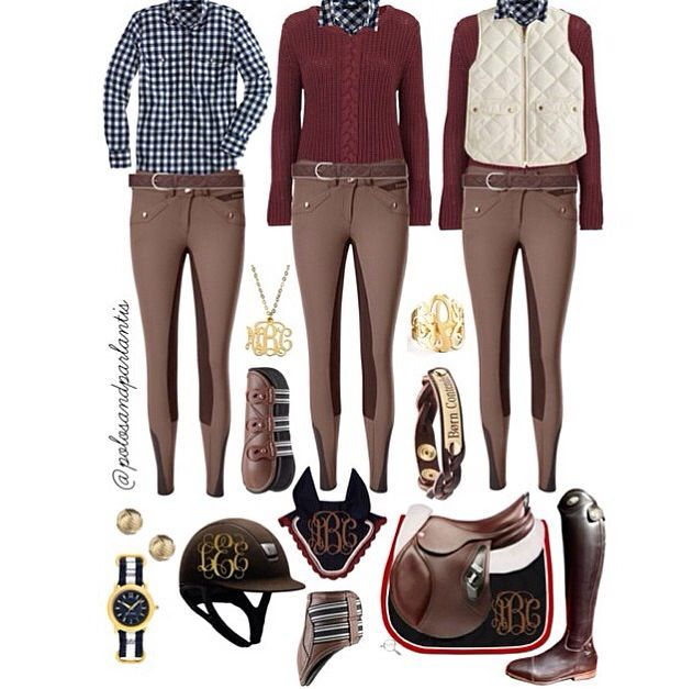 Fall/Winter Riding Clothes