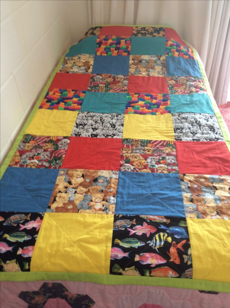 A quilt I made for an orphanage in Myanmar.
