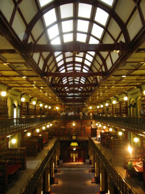 Mortlock Wing of the State Library of South Australia.