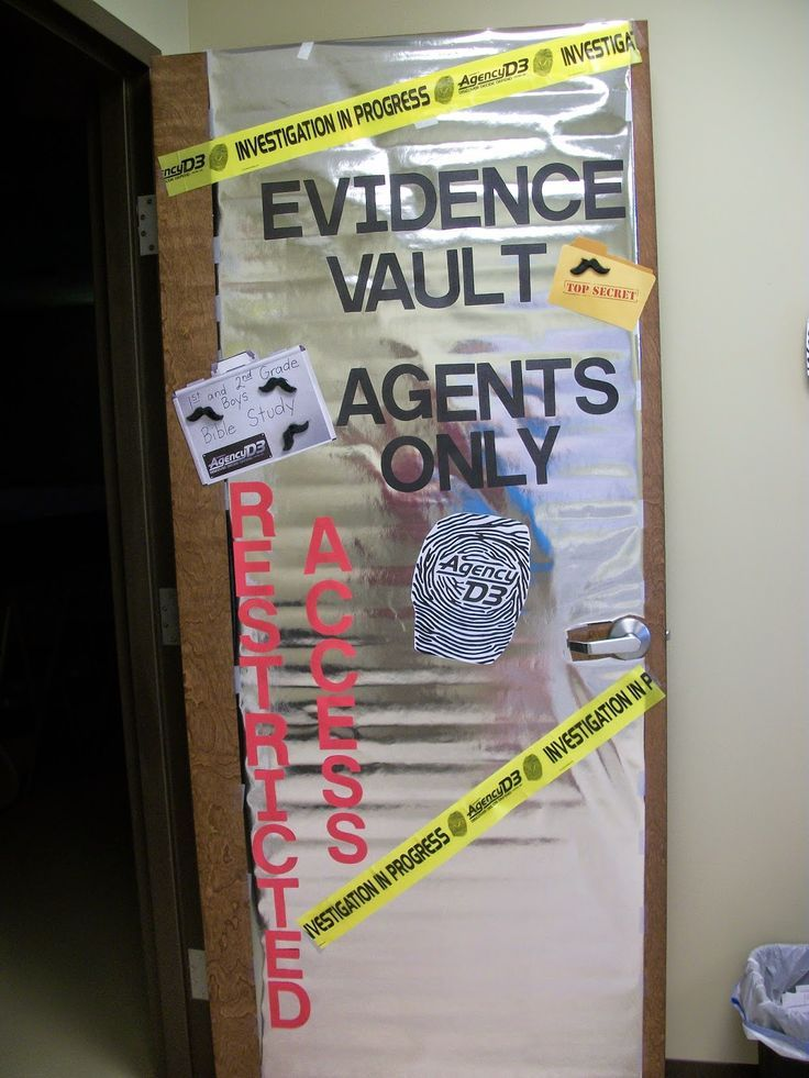 A compilation of the best ideas I've seen for an awesome detective classroom…