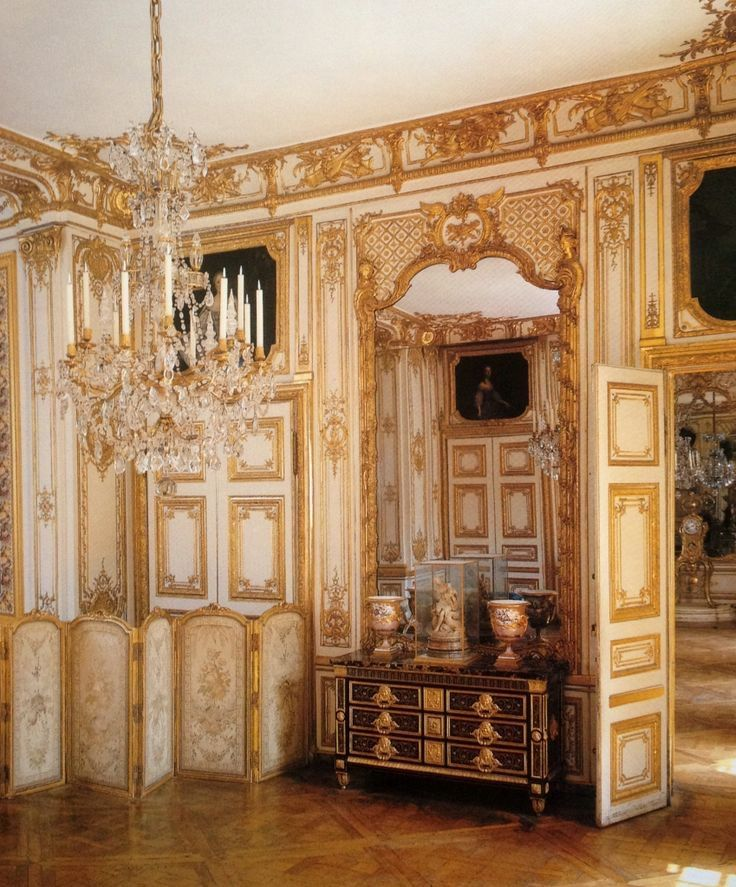 The Versailles Apartments: Boiseries In The Private Apartments Of King Louis XV At
