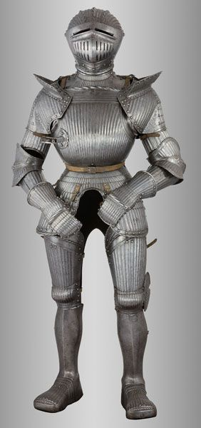 German 'Maximilian' Armour in the 16th-Century Style.This and more important German armor for sale on CuratorsEye.com