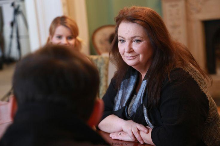 Anna Dymna -Relacja z planu filmowego dzień czwarty.. - Kamila Isakiewicz fotograf dzieci Kraków, fotograf dla firm Kraków