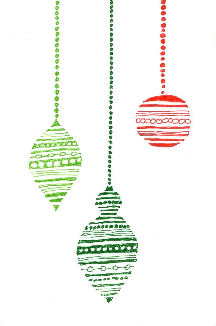 Art Projects for Kids: Christmas Ornament Card. Would it be wrong to have the kids make a few dozen over the summer to give out at christmas?