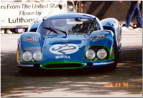 1969 Matra MS630 Berlinette Sportscar. Goodwood Festival of Speed 1996.