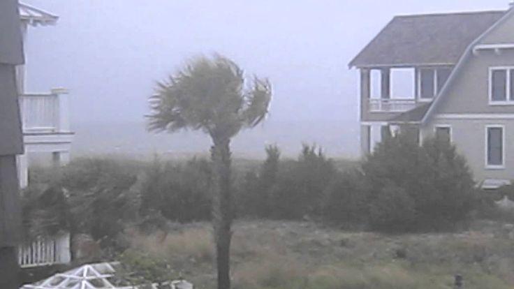 Hurricane Irene- Bald Head Island, North Carolina