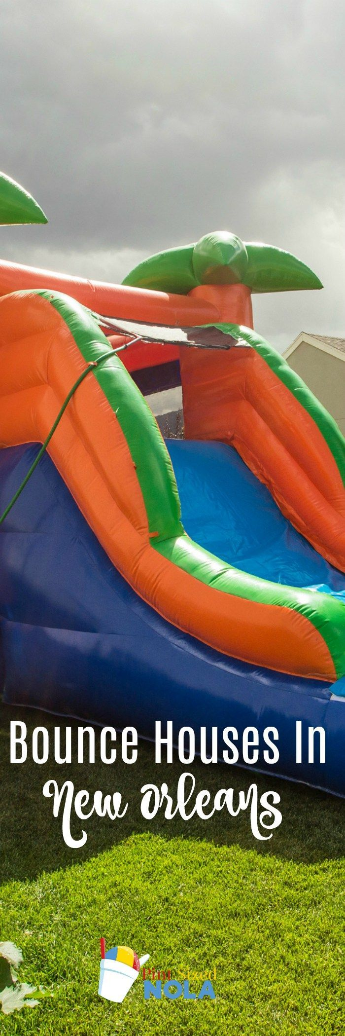Bounce Houses In New Orleans Inflatables, water slides, and bounce houses are a HUGE part of a lot of birthday parties. Here is a list of bounce house rentals in New Orleans.