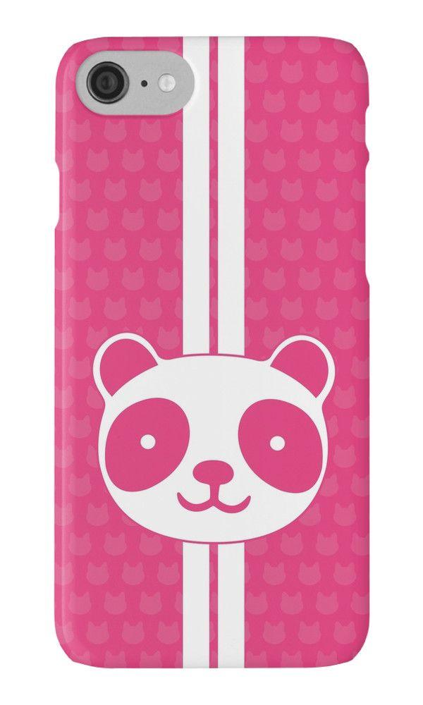 Pink Panda by XOOXOO  Case / Skin  iPhone Cases & Skins